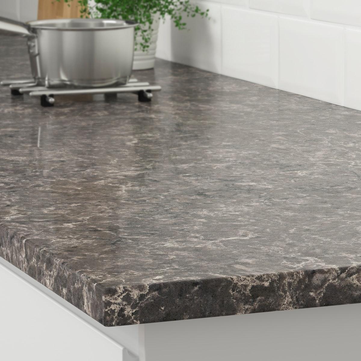Gray Marble Effect Level 4 Ikea Ca Custom Countertops